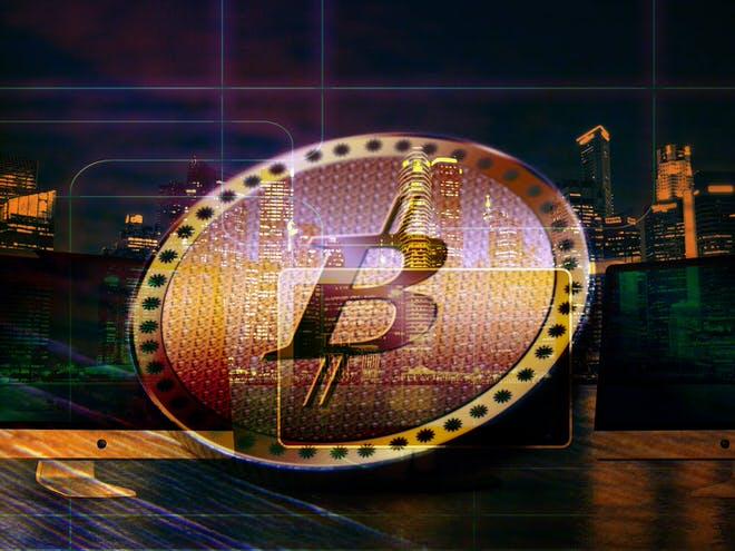 ビットコイン決済サービスのイメージ
