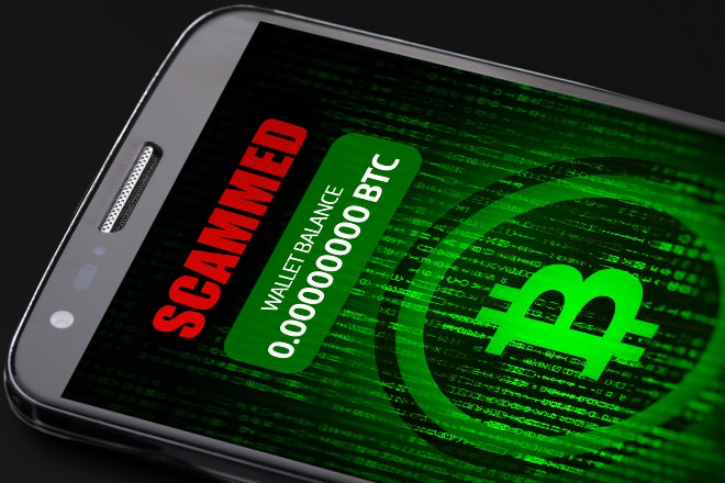 詐欺アプリのイメージ