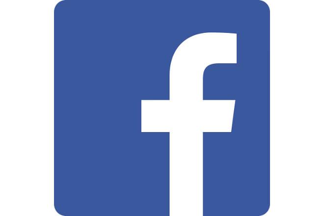 Facebookのロゴイメージ